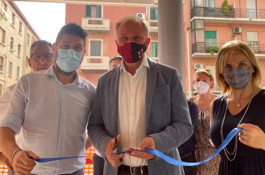 Il Segretario Generale, Claudio Tarlazzi, ha inaugurato stamattina la nuova sede della Uiltrasporti Cagliari